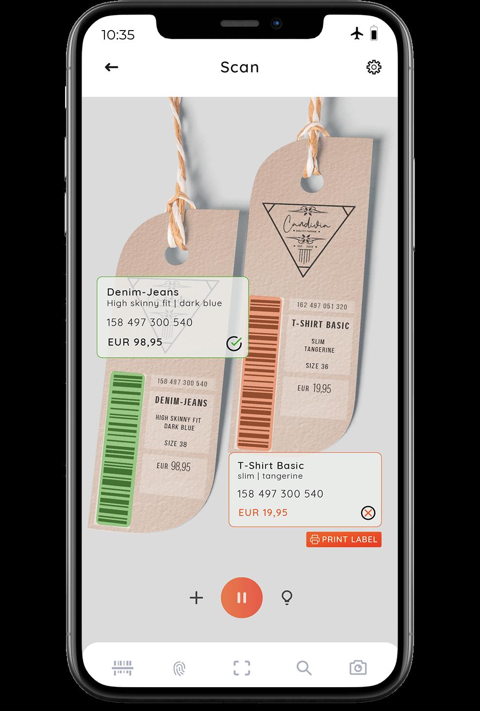 CaptureID - Barcode Scanning SDK Demo App